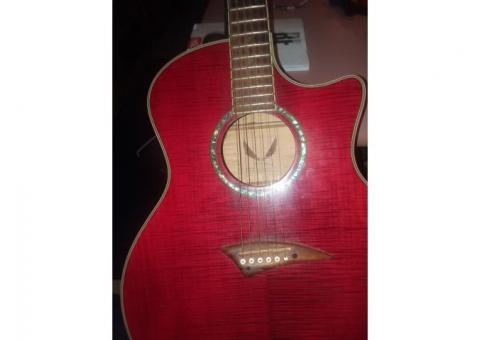 Dean aqoustic, electric  guitar
