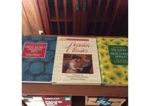 Readers Digest spriral bound  song book collections
