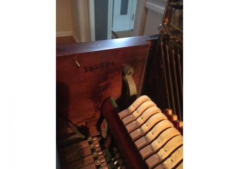 Beautifully refinished Huntington Antique Piano